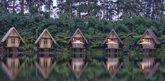 Villa reflections. Explored. (kaioyang) Tags: mt