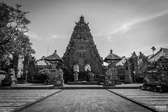 Balinese Temple (davidgevert) Tags: blackandwhite bw bali indonesia temple nikon ubud d800 travelphotography balinesetemple balineseculture balitemple purasamuantiga nikon2470mmf28 nikond800 davidgevert gevertphotography