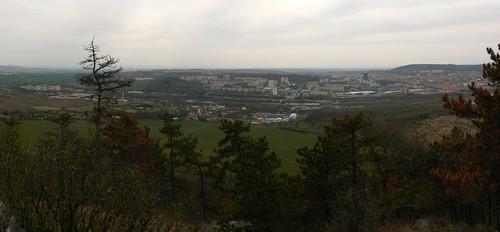 Blick vom Spitzberg (Brüx) – Süd