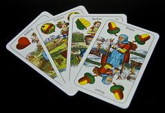 Anything Goes - MACRO MONDAYS (bestauf) Tags: macro seasons jahreszeiten anythinggoes mondays anything spielkarten