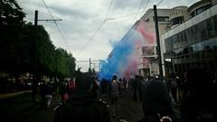 #Nantes: #manif26mai #LoiTravail: petit clin d'oeil fumi oklm: les flics n'ont pas aim et gaz la foule (ValK.) Tags: nantes loitravail manif26mai