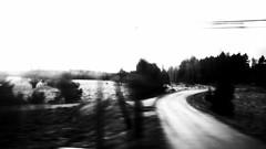 (blazedelacroix) Tags: road blackandwhite blur route bnw lensculture blazedelacroix