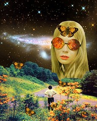 Distant meeting (Mariano Peccinetti Collage Art) Tags: collageart collagealinfinito cutandpaste globular collage surreal collageartist peccinetti marianopeccinetti dream meditation retro arte psych art psychedelic flowers vintage vintageart trippy 70s 60s lsd dmt surrealist surrealism space fullmoon moon cosmic camp saturn rainbow yoga desert lovers world love stars