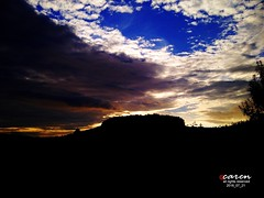 Dramatic Sky Over a Celtic Hill Fort in Wales (Ceredigion) (caren (Thanks for 1 Million+ views)) Tags: sky unitedkingdom cymru ceredigion cloudformation celts midwales celtichillfort