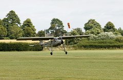 Fiesler Storch landing (Beth Hartle Photographs2013) Tags: shuttleworthcollection oldwarden british aircrafts cars tractors vintage historic agricultural fieslerstorch storch