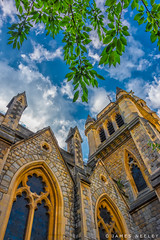 Looking Up (James Neeley) Tags: london southkensington church architecture jamesneeley