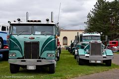 1974 Peterbilt 352 (Truck Exposure) Tags: coe cabover truck19701979