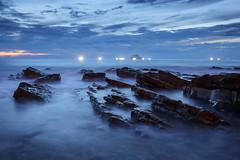 Waimushan, Taiwan _IMG_3156 (Len) Tags: seascape sunrise rocks waves  taiwan  dawning  seacoast daybreak keelung 6d       waimushan   ef1635mmf28liiusm  1635lii