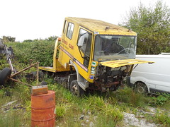 Recovery and Beyond... (roger.w800) Tags: truck lorry recoverytruck recoverylorry breakdownlorry abandoned outtopasture retired obsoloete rust rusty rusting rusted aec bedford aeclorry bedfordlorry commercial vehicle old decrepit disused iveco