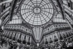 Galleria Vittorio Emanuele II, Milan (Funkraft) Tags: galleria vittorio emanuele ii milan milano mailand shopping duomo italy bw panzerotti louis vuitton prada armani versace gucci campari piazza