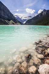 Lake Louise (mzagerp) Tags: road trip usa canada rockies rocheuses etats unis mzagerp banff national park lake louise moraine lac emerald meraude plain six glaciers columbia icefield glacier