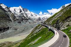 Grossglockner Hochalpenstrasse (Tuomo Lindfors) Tags: itvalta austria sterreich topazlabs clarity dxo filmpack grossglocknerhochalpenstrasse grossglocknerhighalpineroad grossglockner kaiserfranzjosefshhe pasterze glacier gletscher jtikk alpit alps alpen vuori mountain