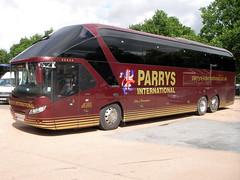 OU14SSJ Parry's (preselected) Tags: bus coach luss neoplan starliner parrys birmingham