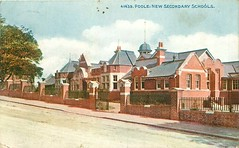 Poole Secondary School (mgjefferies) Tags: england dorset poole school 1912 postcard secondary new