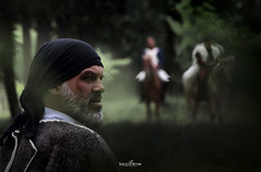 waiting for the enemy (dim.pagiantzas | photography) Tags: movies cinematic cinema entertainment atmospheric films art actors historical history period greece greek outdoor man men people portrait canon
