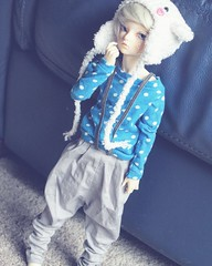 I love this look on him. (pokori) Tags: mnf minifee blake rheia boy fairyland ns msd bjd