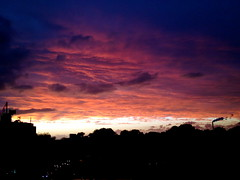 yesterday evening  from my window (Gertie Jaquet) Tags: sunset amsterdam frommywindow uitmijnraam
