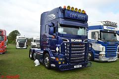 Scania R 'COO MATT' reg V80 CMH (erfmike51) Tags: scaniar artic truck v8 lorry coomatt swedefest2016