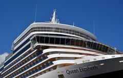 HMS Queen Elizabeth II (lhb-777) Tags: cruise haven water amsterdam boot big elizabeth harbour queen enjoy impressive hms vaart genieten schip groot koningin indrukwekkend pvb2015