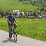 "Polish farmer on a bicycle<a href=""http://www.flickr.com/photos/28211982@N07/17589679400/"" target=""_blank"">View on Flickr</a>"