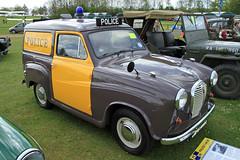 Austin A35 Police Van JEG 282E (BIKEPILOT) Tags: classic vintage austin airport rally transport police vehicle van popham airfield aerodrome a35van eghp aeroautojumbleclassicvehiclerallyflyin jeg282e