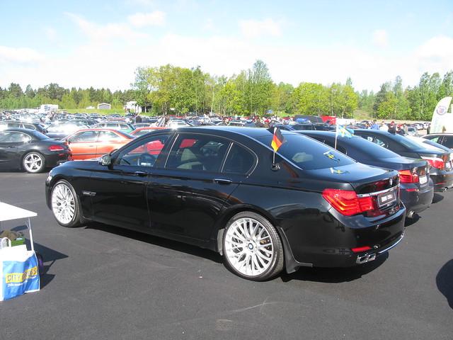 cars turbo bmw v8 7series 7er f02 f01 750li
