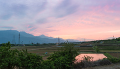 A View From My Window (Skyworks) Tags: sunset sky alps window japan view fields minami d800 2470