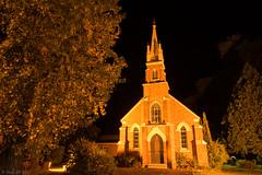Bright Uniting Church at night (Ralph Green) Tags: longexposure night bright australia victoria unitingchurch