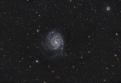 M101 - The Pinwheel Galaxy (Antoine Grelin) Tags: las vegas sky usa night canon dark lens stars long exposure desert space nevada cluster ngc 8 telescope galaxy nebula astrophotography m45 m31 orion m42 atlas astronomy m51 pinwheel cosmos t3i m101 astronomie eqg 600d astrophotographie pixinsight