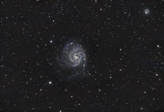 M101 - The Pinwheel Galaxy (Antoine Grelin) Tags: canon t3i 600d pinwheel pixinsight galaxy m101 m31 m45 m42 m51 ngc astronomy astrophotography telescope orion 8 lens night long exposure dark nevada las vegas usa desert sky space stars cosmos eqg atlas astronomie astrophotographie nebula cluster astrometrydotnet:id=nova1649702 astrometrydotnet:status=solved