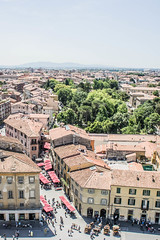 Pisa (superextraawesome) Tags: above italy tower roofs tuscany leaning botanicgardens roofscape itlay