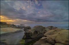Sant Antoni de Calonge (antoniocamero21) Tags: costa color marina mar agua foto sony paisaje girona amanecer cielo nubes catalunya brava aire libre rocas calonge