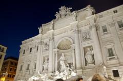 Trevi Fountain (zamshabeer) Tags: rome trevi trevifountain romeatnight trevifountainatnight