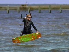 Kitesurfing Kiteboarding Kite surfing Corolla kiteboarding North Carolina NC (watts_photos) Tags: kite surfing kiteboarding kitesurfing sound carolina windsurfing kiteboard outerbanks corolla currituck kiteboards corollakiteboarding