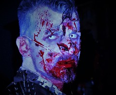 (Mango*Photography) Tags: street portrait people eye hospital dead blood zombie walk creepy disturbing unusual giulia bergonzoni