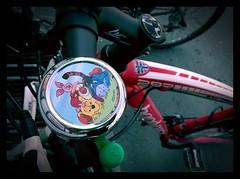 Disney (burgerno) Tags: bike bell disney pooh tigger piglet phonecamera eeyore pedal lumia nokialumia630 lumia630