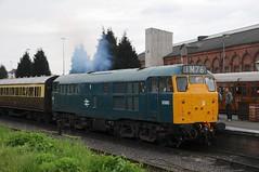 5580 (31 162) - Kidderminster (GreenHoover) Tags: severnvalleyrailway svr svrdiesel dieselgala dieselgala2016 kidderminster class31 31162 5580 a1alocomotives