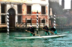 Italy, Venice - gondoliers practicing (Biffo1944) Tags: venice italy gondolier