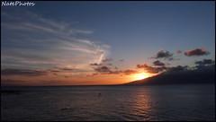 Hi Sunset 2(1) (NatePhotos) Tags: road sunset sea hawaii bay waterfall rainbow cows turtle maui hana jungle waterfalls kapalua rooster eel napili 2016 natephotos