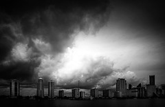 I AM MIAMI (Suzanna Mars) Tags: skyscrapers florida miami cities cityscapes cloudsweather