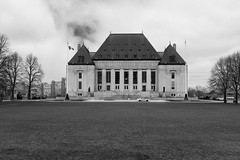 Supreme Court of Canada (nacim.khodja) Tags: blackandwhite building heritage tourism architecture landscape nikon cloudy outdoor parliamenthill supremecourt patrimoine streetphotographie d7100