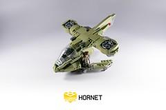 Lego Halo 3 Hornet (BrickTechStudios) Tags: 3 marine lego halo hornet pilot unsc