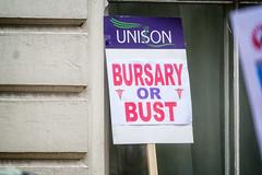 Bursary or Bust June 2016 - 11 (garryknight) Tags: london march student education rally protest samsung nurse tuition lightroom bursary nx2000 ononephoto10 bursaryorbust