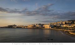 5 luglio 2016 - Vieste - Baciata dal Primo Sole (Andrea di Florio (5,000,000 views)) Tags: panorama landscape nikon mare estate alba 28 sole puglia spiaggia vacanza d600 foggia 2470 viste andreadiflorio