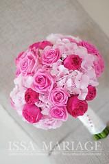 Buchet domnisoare onoare trandafiri rosii si roz (IssaEvents) Tags: buchet mireasa trandafiri roz si rosii bucuresti valcea slatina issaevents issamariage