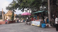 Ubon Ratchathani - Thailand (jcbkk1956) Tags: ubonratchathani thailand templegrounds stalls buddhist samsung worldtrekker offerings temple buddhism