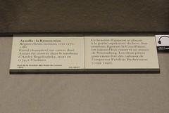 ca. 1170-1180 - 'Resurrection, armilla (armlet), circle of Emperor Frederick Barbarossa', Mosan-Rhenish, Musée du Louvre, Paris, France (Roel Renmans) Tags: 1170 1180 resurrection opstanding auferstehung resurreccion risurrezione christ jesus armilla armlet rijn maas land rhine meuse mosan rhenish rhein rhin soldiers soldaten soldats musée museum louvre paris emperor frederick barbarossa friedrich federico imperatore holy roman emire hauberk mail sepulchre nasal norman helm helmet cotte mailles kettenhemd sword