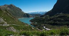 LE BARRAGE D'EMOSSON (Odile ENTRE MER ET MONTAGNE) Tags: emosson barrage suisse eau water montagne lac valais
