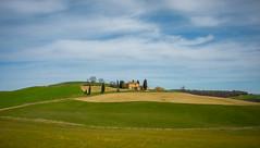 Tuscany villa (1 of 1) (Robert Dillon Photographer) Tags: tuscany itlay fileds sky green poplar rollinghills
