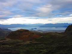 IMG_8117 (NapoleonIsNotDead) Tags: iceland islanda summer wonders natural landscape sunset clouds red colorful sun sunshine ray reykjavik close blue þingvellir thingvellir